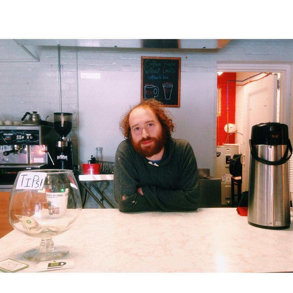 Billy Mack, local entrepreneur and owner of the Coffee House Without Limits would like to make you a coffee and talk to you about civic engagement